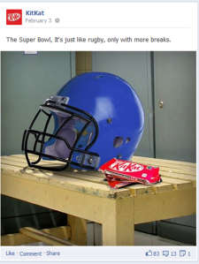 Kit Kat superbowl