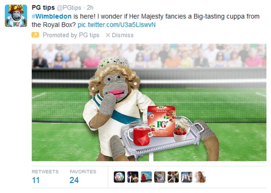 PGTips Wimbledon