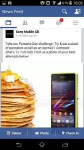 sony pancake